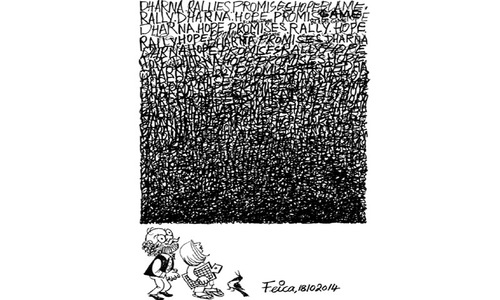 Cartoon: 18 October, 2014