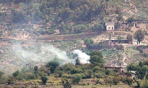 Bajaur IED blast kills two security personnel