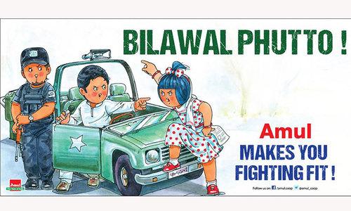 Indian ad ridicules Bilawal over Kashmir speech