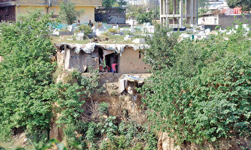 The cave-dwellers of modern day Rawalpindi