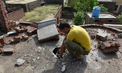 Pakistani civilian injured as Indo-Pak border forces exchange fire