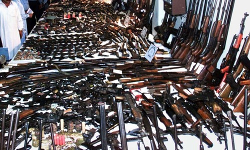 Khyber residents given three-day deadline to surrender arms