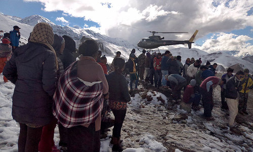 Hopes fade for 40 missing after Nepal blizzard
