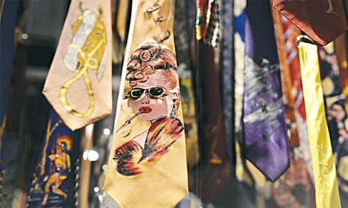 Ties — from power symbol to fashion statement