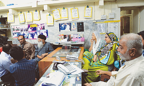 Edhi head office robbed