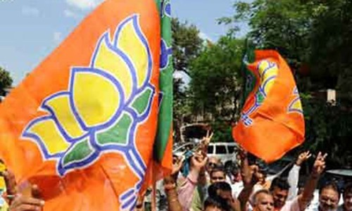 BJP ousts Congress in two states
