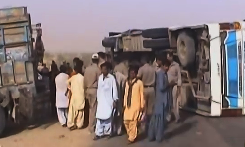 Road accident kills 10 in Balochistan