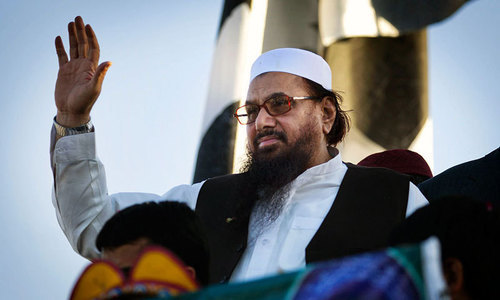 Latest ceasefire violations part of Obama, Modi plan: Hafiz Saeed