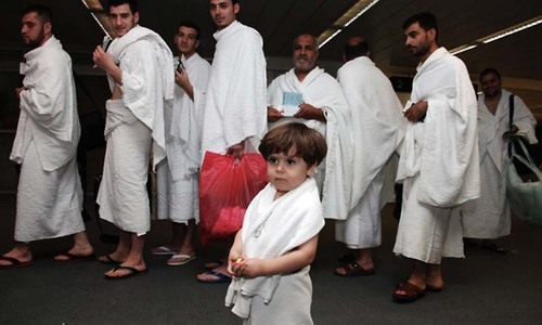 Decision to restrict children at Haj under consideration