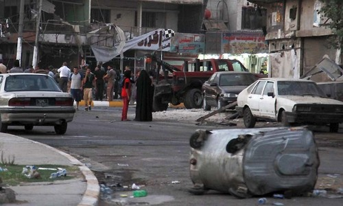 Suicide attack kills at least 17 in Baghdad