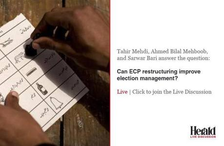 Live discussion: Can ECP restructuring improve elections management?