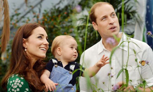Prince William and wife Kate's second child due in April
