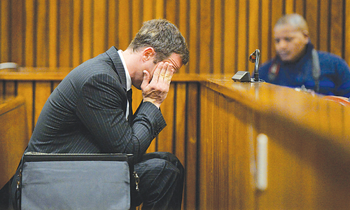 Oscar Pistorius sentenced to 5 years in prison