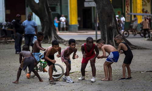 Ready to rumble: Kids turn to wrestling in baseball-crazy Cuba