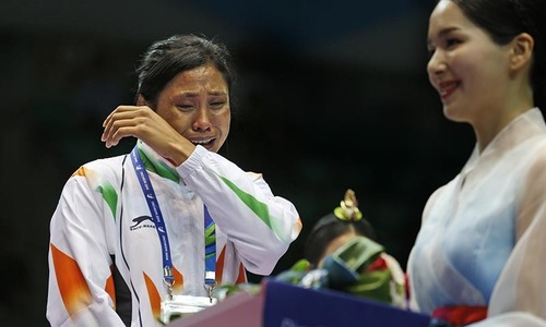India boxer Devi suspended for Asian Games protest