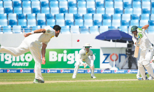 Resolute Younis makes history as Pakistan stand firm