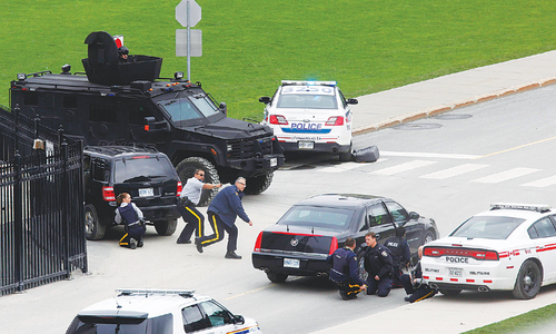 Terror attack on parliament rocks Canadian capital