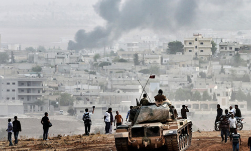 Iraqi Kurds approve deployment of fighters to Kobani
