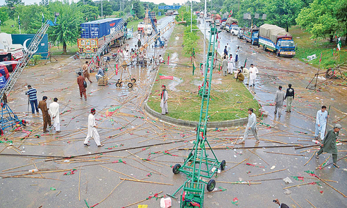 PTI's new strategy to avoid a deserted looking Constitution Avenue