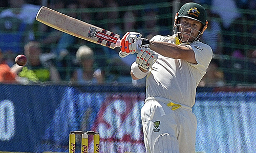 Day 3: Australia on the backfoot despite Warner ton