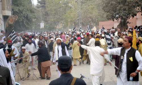 Fazl lashes out at Balochistan and KP govts