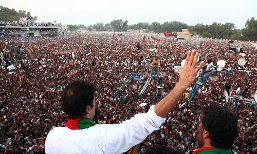 Imran hoping for record breaking rally in Gujrat today