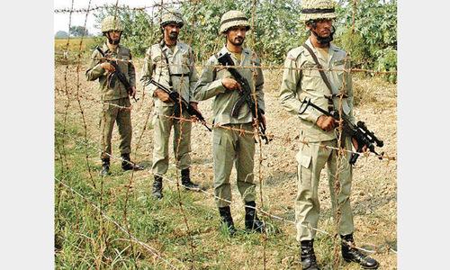 BSF keeps targeting houses across border