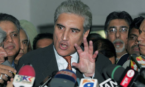 PTI against division of  Sindh, says Qureshi