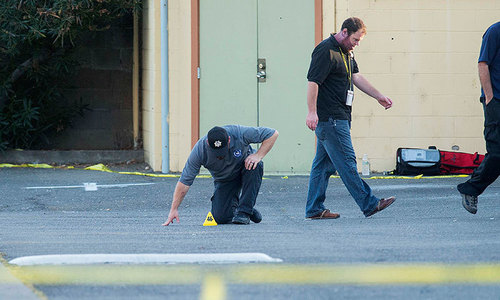 Two cops dead, two wounded in California shooting spree