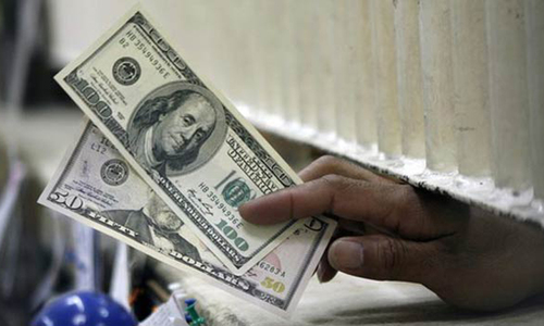 Demand pushes dollar to six-month high