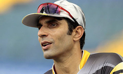 Misbah backs UNICEF polio drive