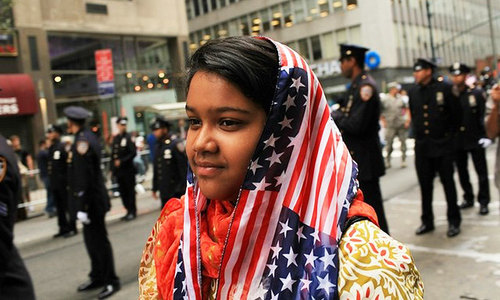 'We are good Muslims, but Americans too'