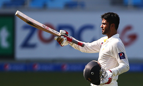 Rampant Pakistan stretch lead to 382 after Shehzad ton