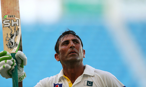 Remarkable turnaround for record-breaking Younis