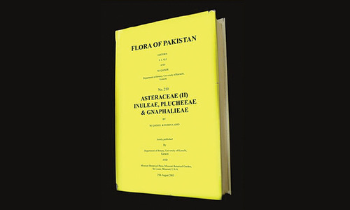 KU completes 40-year research on flora of Pakistan