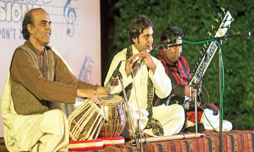 Three maestros create a night of musical ecstasy