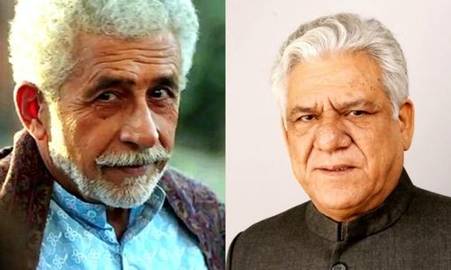Cinema legends Naseeruddin Shah and Om Puri narrate their journey