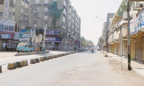 Several Sindh cities stay shut on MQM protest call