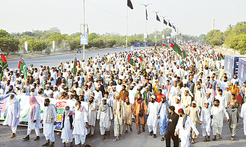 ASWJ rallies in many towns to observe Yaum-i-Umar Farooq