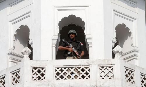 Security threats in Muharram