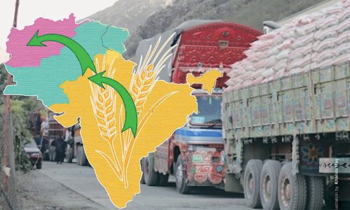 India seeks transit facility for wheat export to Afghanistan