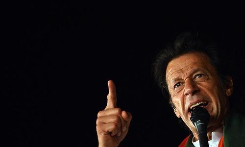 Imran blames ECP for local polls delay in KP