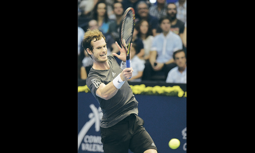 Murray wins Valencia title  to boost London bid