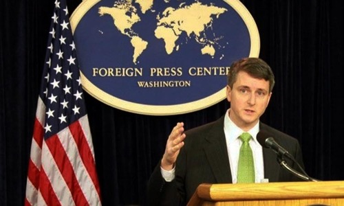 US special envoy in Pakistan for consultations with civil, military leaders