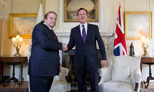 Cameron invites Nawaz to attend Afghanistan summit in London