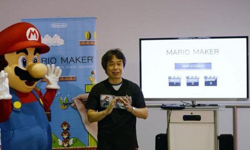 'Super Mario' creator flirts with film, games still true love