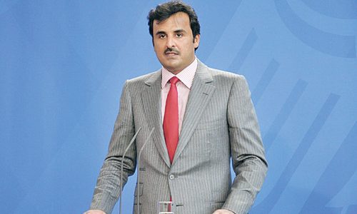 Emir of Qatar aims to paint positive image of country on UK visit