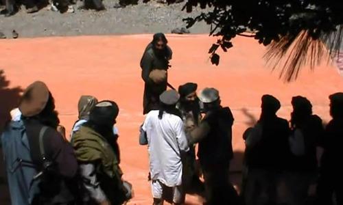 Talks with the Taliban