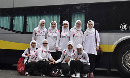 Basketball more than just a game for Saudi women