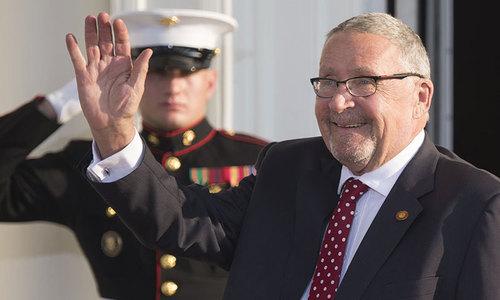 White Zambian named acting president